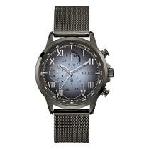 Daugiafunkcinis GUESS stilingas pilkos spalvos laikrodis vyrams