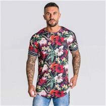 """Įvairiaspalviai """"Giannini Kavanagh"""" vyriški marškinėliai trumpomis rankovėmis"""